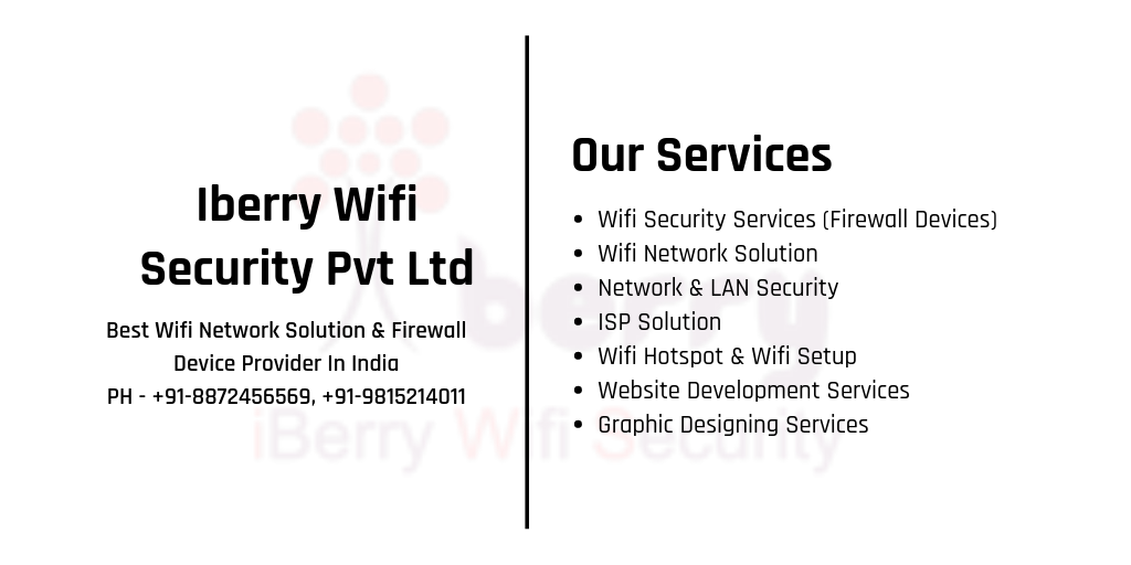 Best Wifi Security & Firewall Device Provider In Amritsar, Punjab, India - Iberry Wifi Security